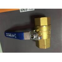 China Brass Investment Casting Brass Ball Valve , Brass Stop Valve Brass Castings on sale