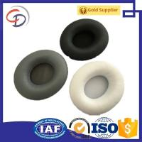 Cheap China Chengde supplier of Replacement protein leather Ear Pads Cushions For SOLO / SOLO HD Headphones Black for sale