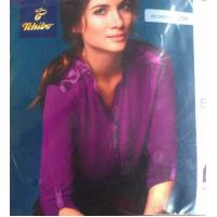 Cheap Good quality women apparel stock lots Plus size ladies Modal stretch casual business shirt for sale