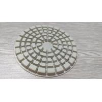 """Cheap 4 """" Dry Diamond Polishing Pads For Marble / Concrete / Granite / Stone for sale"""