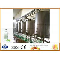 200T / Year Green Plum Wine Fermentation Equipment Production Line Food Grade Processing