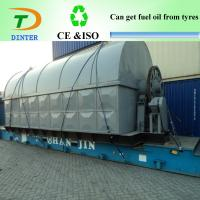 China Waste tyre Distillation oil recycling machine to diesel on sale