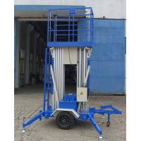 9 Mtrs Dual Mast Aerial Work Platform 200Kg Load Towing Type