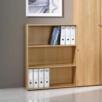 Cheap Wall Mounted 2 Shelf Wooden Cube Bookcase For Small Places , Kids Room Bookshelves DX-112 for sale