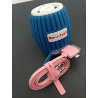 Cheap Blue Cell Phone Bluetooth Speakers , Mini Bluetooth Wireless Speakers wholesale