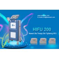 Quality Three Cartridges Face Lifting High Intensity Focused Ultrasound Machine / Hifu System wholesale