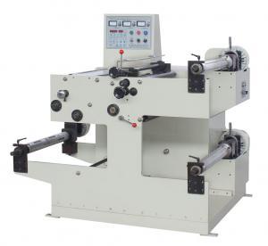 China 100m/min Auto Slitting Machine , 550mm Width Web Label Slitting Machine on sale
