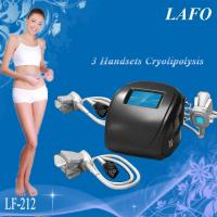 Cheap HOTTEST!!! 3 handles Portable Cryolipolysis Vacuum Slimming Machine for sale
