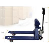 Quality 1Ton - 3Ton Forklift Lift Truck Scales Hydraulic Hand Pallet Scale With Display wholesale