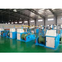 Industrial Cable Production Equipment , Wire Extrusion Line 26x3.4x2.8m Size