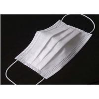 Cheap Odourless Lint Free Disposable Medical Mask , Disposable Medical Mouth Cover for sale