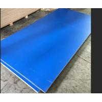 Cheap Blue Melamine Commercial Plywood Poplar / Hardwood Core For Indoor Decoration for sale