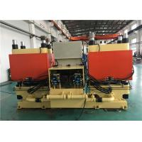 China 400 Ton Clamp Force Car Brake Pad Molding Machine High Production Capacity 2 Molds on sale