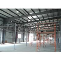 Cheap Customized Steel Prefabricated Warehouse Buildings With Sandwich Panels for sale