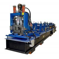 Cheap Full Automatic Z Purlin Roll Forming Machine With Punching PLC Control System for sale