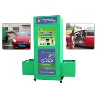 Buy cheap Foam Water Automatic Car Wash , Card Operated Portable Washing Machine with Vacuum Cleaner from Wholesalers
