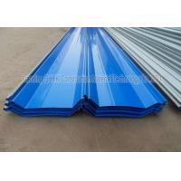 Cheap Corrosion Resistant Prepainted Steel Corrugated Roofing Sheets Long Life Span for sale