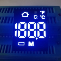 China Hot Sales Ultra White 6 Pins 7 Segment LED Display Module For Forehead Thermometers on sale