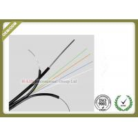 Buy cheap GJYXCH 4core Single Mode Outdoor Fiber Optic Cable with FRP messenger wire from wholesalers