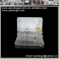 lotion cosmetic womens cosmetic slots acrylic display case