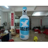 Buy cheap Customized PVC Tarpaulin Inflatable Bottle For Display or Advertising from Wholesalers