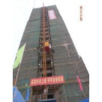 Buy cheap 2T Twin Cage Vertical Construction Lifting Equipment, Building Material Hoist from wholesalers