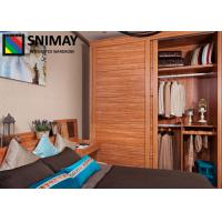 Line Decoration Modern Bedroom Wardrobe Closet Furniture With Aluminum Profile Of