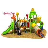 Sports Outdoor Playground Slides Exciting Anti - Static Professional Design