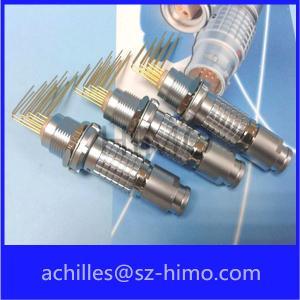 ECG.2B.310 10PIN pcb mount lemo connector (FGG.2B.310.CLAD62Z/ECG.2B.310.CLV)