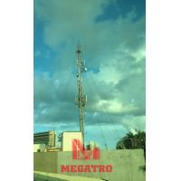 Cheap Roof top guyed telecom mast for sale