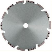 Cheap Silent Core 230mm Diamond Stone Saw Blades Laser Welded Turbo Segmented for sale