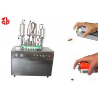 Cheap Insecticide Aerosol Spray Filling Machine for sale