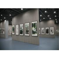 Cheap Wooden Exhibition Partition Walls , Room Dividers Operable Wall For Art for sale
