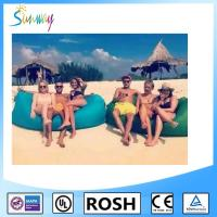 Cheap Nylon Sunbathing Fabric Fast Inflatable Sleep Bag Outdoor Lawn for sale