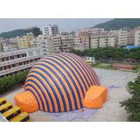 Cheap High Temperature Resistance Dome Inflatable Tent / Inflatable Sport Tent For Commercial for sale