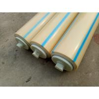 Buy cheap Fertilizer Industrial Conveyor Return Rollers With Dustproof Cover and Labyrith Seal from wholesalers