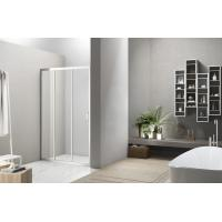 Cheap 3 Panel Sliding Glass Doors Shower Enclosure with Frame for sale