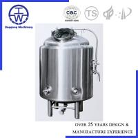 Cheap Brewhouse Beer Conditioning Tank PU Rockwool Insulation Polishing Below 0.4um for sale