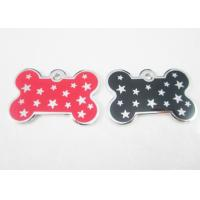 China Metal Personalised Dog Tags For Pets , Customized Dog Identification Tags on sale