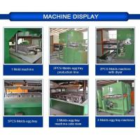 Cheap China egg tray mould pulp tray machine with plc cabinet wholesaler for sale