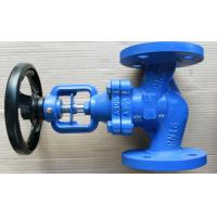 Cheap Bronze Trim Cast Iron Flanged Globe Valve Nodular DN65 PN16  Part No. DIN 3202-F1 for sale