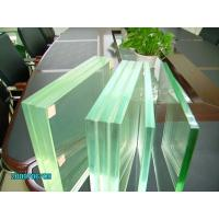 China Safety glass laminated glass clear colored glass for building manufacture price on sale