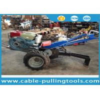 Buy cheap 5 Ton Double Drum Tractor Winch With Water-Cooled Diesel Engine For Cable from wholesalers