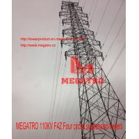 Buy cheap MEGATRO 110KV F4Z Four circuit suspension towers from wholesalers