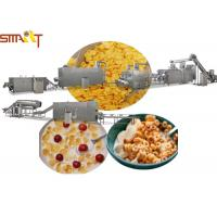 China Sus NSK Bearings Breakfast Cereal Production Line Making Corn Flakes on sale