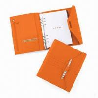 Cheap Notepad, Includes Polished Chrome Cross Accessory Pen, OEM and ODM Orders are Welcome for sale