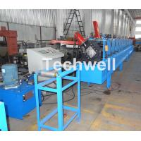 Quality Metal Stud And Track Roll Forming Machine , Sheet Metal Roll Former For Roof wholesale