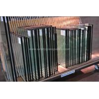 Cheap Low Iron Double Glazed Insulated Glass Unit , Hollow Glass Shower Enclosures for sale