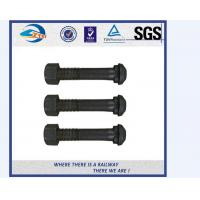 Cheap Q235 35# Long Rod Galvanizing Hook Railway Bolt With Black Anodize for sale