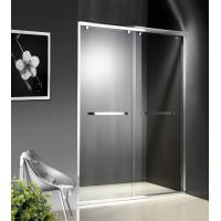 Cheap Double Sliding 1200-2000x1950mm Shower Cubicle Doors With Wheels for sale